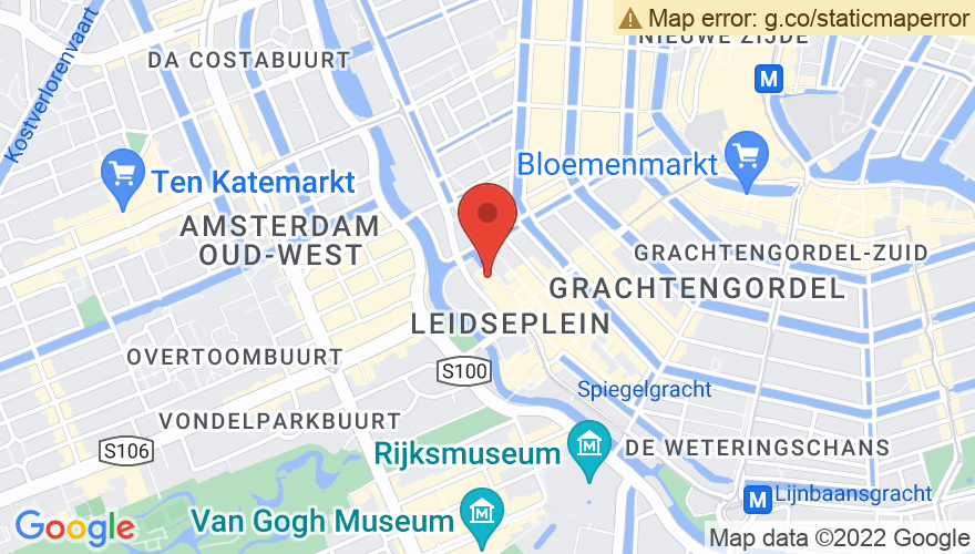 Map for Melkweg