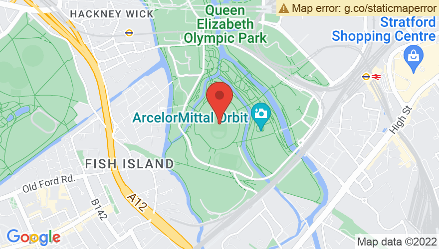 Map for London Stadium