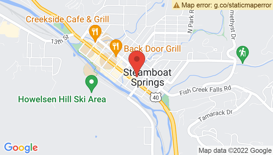Map for Steamboat Grand