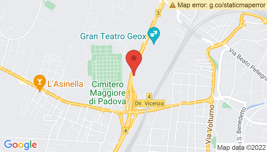 Map for Gran Teatro Geox