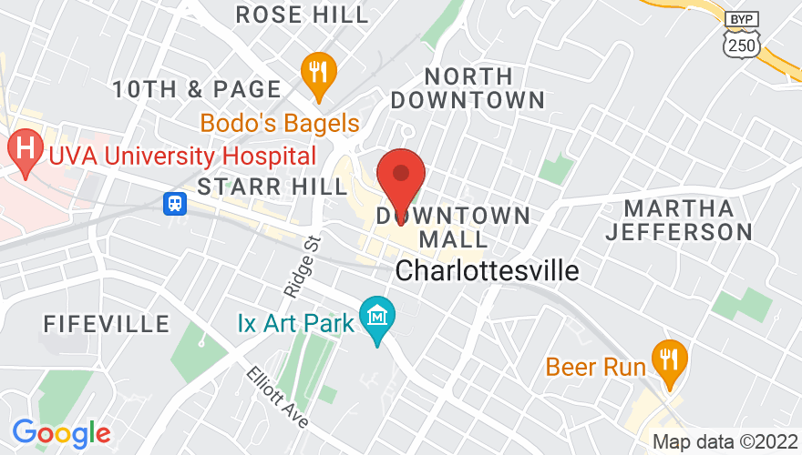 Map for Jefferson Theater