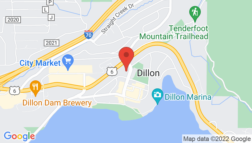 Map for Dillon Ampitheatre