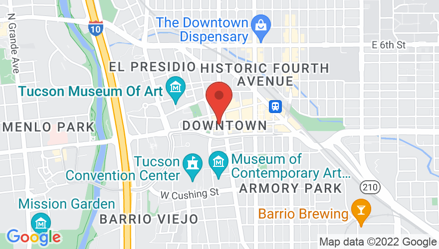 Map for Fox Tucson Theatre