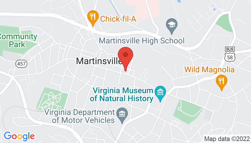 Map for Rives Theater