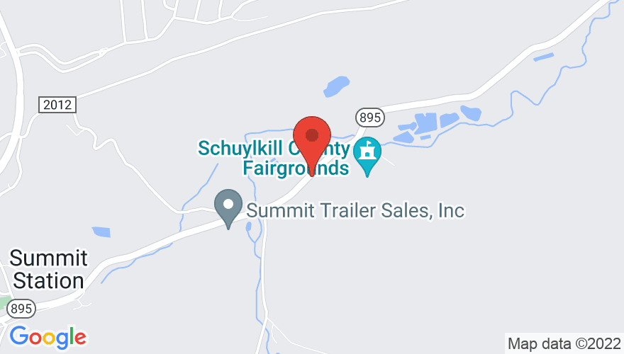 Map for Schuylkill County Fairgrounds