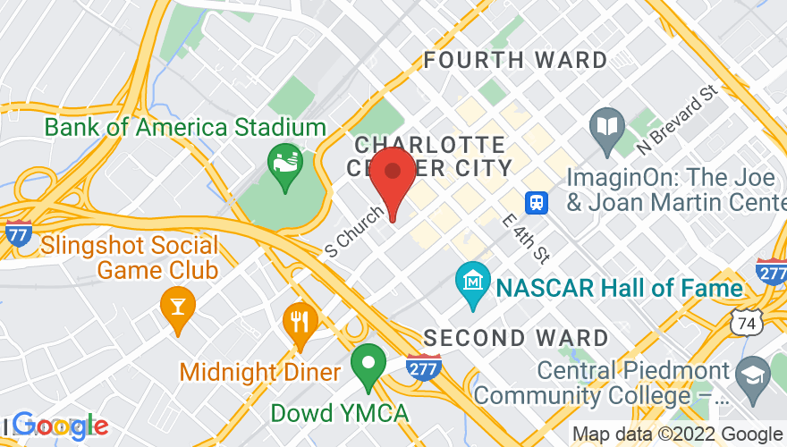 Map for Knight Theater