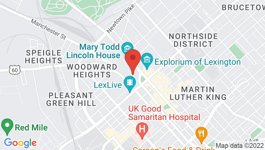 Map for Rupp Arena