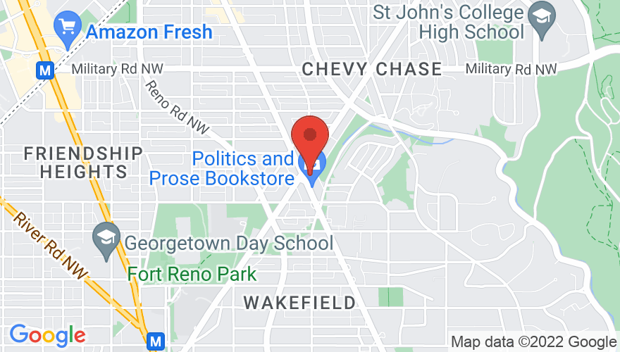 Map for Comet Ping Pong