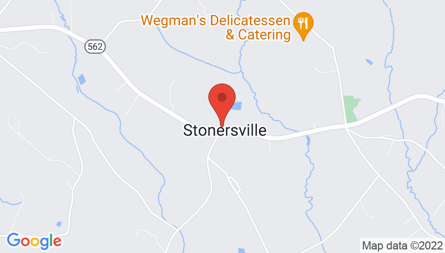 Map for Stonersville Hotel