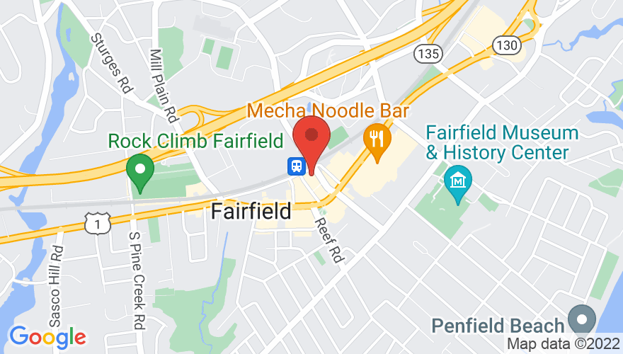 Map for Fairfield Theatre StageOne