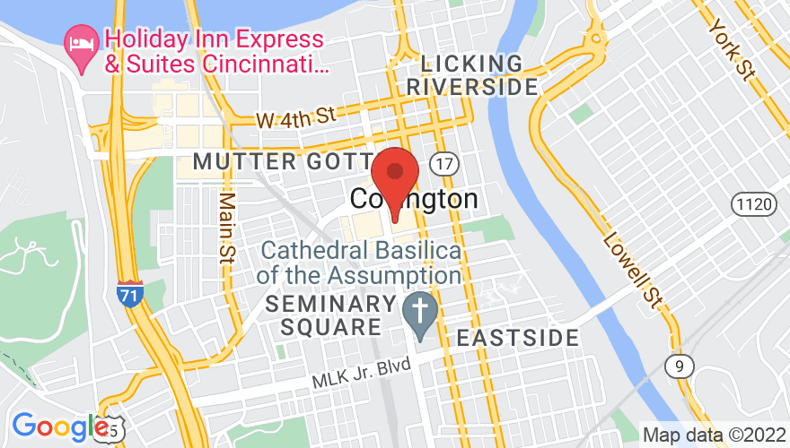 Map for Madison Theater
