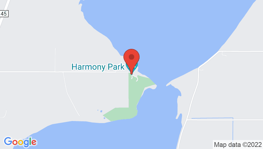 Map for Harmony Park