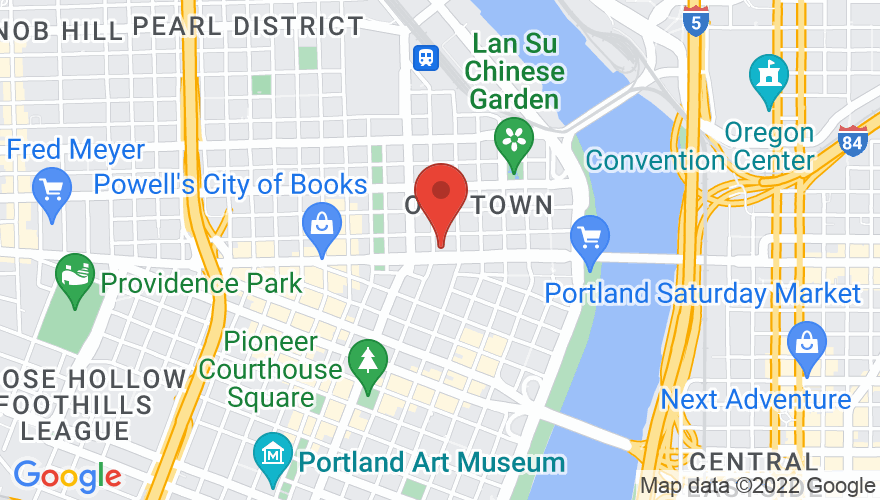 Map for Roseland Theater