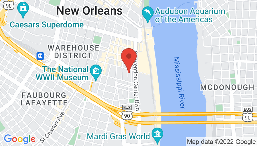 Map for Republic New Orleans