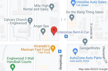 Enterprise Rent A Car Englewood Co