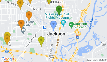 Staticmap?size=445x259&scale=1&center=jackson,+ms,+usa&zoom=13&markers=color:blue%7cjackson,+ms,+usa&markers=color:0x439325%7c32.308018, 90.180901&markers=color:0x559f23%7c32.342999, 90.140556%7c32.324368, 90.170639%7c32.32468, 90.174522&markers=color:0x6ba721%7c32.363361, 90.153519&markers=color:0x86b31f%7c32.296181, 90.103592%7c32.27932, 90.108948%7c32.279999, 90.108971%7c32.241604, 90.165352&markers=color:0xbdc01d%7c32.260067, 90.21553%7c32.314846, 90.18795%7c32.267937, 90.225861%7c32.325108, 90.169464%7c32.289165, 90.193558&markers=color:0xd2b81a%7c32.291962, 90.217873%7c32.320976, 90.239166%7c32.358852, 90.140961%7c32.34333, 90.192383&markers=color:0xdca219%7c32.311733, 90.208565%7c32.300812, 90.241402%7c32.352116, 90.223785%7c32.33075, 90.242317%7c32.368809, 90.1828%7c32.289894, 90.218048%7c32.314934, 90.201553%7c32.243435, 90.221413%7c32.305248, 90.225639%7c32.31424, 90.223846%7c32.271317, 90.26368%7c32.267761, 90.222923&markers=color:0xe78817%7c32.299332, 90.207832%7c32.358059, 90.15731%7c32.32476, 90.193359%7c32.310944, 90.228592%7c32.335457, 90.211479%7c32.274792, 90.218292%7c32.264271, 90.247566%7c32.26384, 90.227402%7c32.304436, 90.202454%7c32.35331, 90.202888%7c32.315006, 90.188438%7c32.25069, 90.228897%7c32.300461, 90.266922%7c32.356892, 90.193573%7c32.28302, 90.243546%7c32.318325, 90.18396&markers=color:0xf26b16%7c32.341034, 90.156593%7c32.340786, 90.156181%7c32.355049, 90.165749%7c32.340321, 90