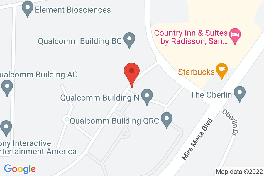 Map to Quallcomm, Inc.
