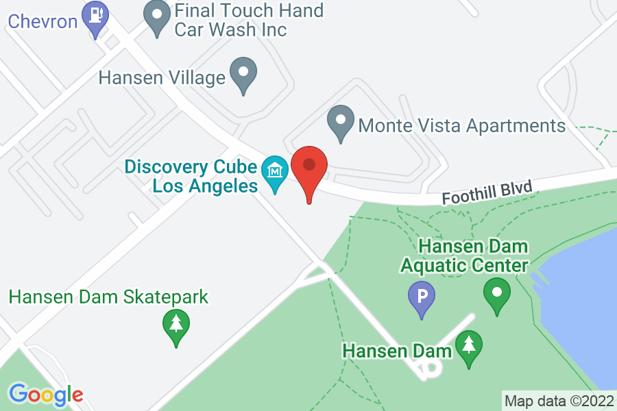 Map to Discovery Cube LA
