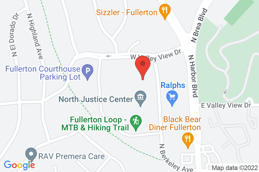 Map to North Justice Center