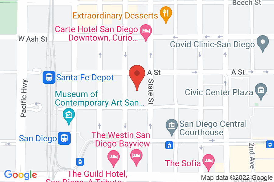 Map to SDCBA Conference Center