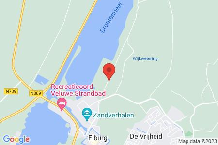 Kaart behorende bij: Kamperdijk te Elburg, kadastraal bekend gemeente Elburg, sectie E, nummer 17 - Termijnverlenging