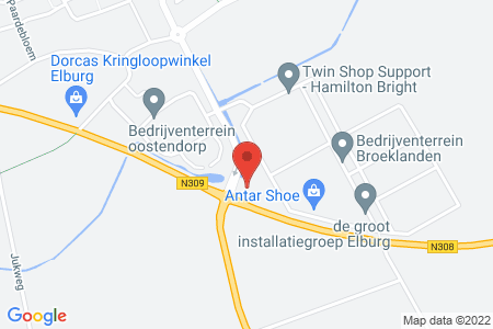 Kaart behorende bij: Oostelijke Rondweg, Elburg, kadastraal bekend gemeente Elburg, sectie E, nummer 433; Havenkade, Elburg, kadastraal bekend gemeente Elburg, sectie B, nummer 2626; Zwolscheweg, Elburg, kadastraal bekend gemeente Elburg, sectie A, nummer 4262; Eperweg, 't Harde, kadastraal bekend gemeente Doornspijk, sectie E, nummer 8628; Zuiderzeestraatweg West, Doornspijk, kadastraal bekend gemeente Doornspijk, sectie E, nummer 8637