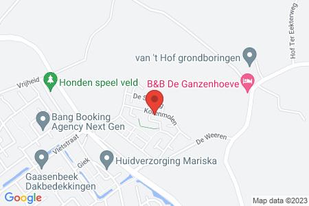 Kaart behorende bij: De Dijkjes kavel 225, Elburg, kadastraal bekend gemeente Elburg, sectie E, nummer 702