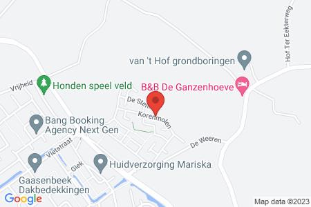 Kaart behorende bij: De Dijkjes fase 3, Elburg, kadastraal bekend gemeente Elburg, sectie E, nummer 822
