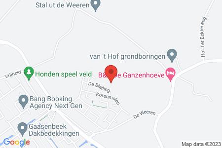 Kaart behorende bij: De Dijkjes kavel 219, Elburg, kadastraal bekend gemeente Elburg, sectie E, nummer 927