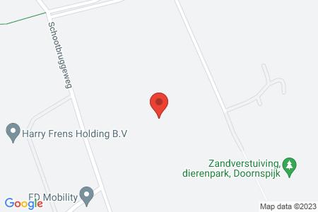 Kaart behorende bij: Berkenweg 2, 8085 RT Doornspijk