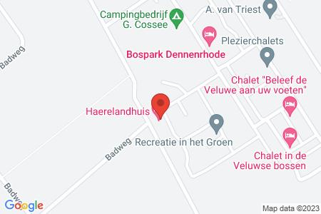 Kaart behorende bij: Verlengde Haerderweg 5R 1, 8085 RJ Doornspijk