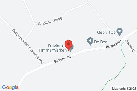 Kaart behorende bij: Bovenweg 62A, 8085 SJ Doornspijk