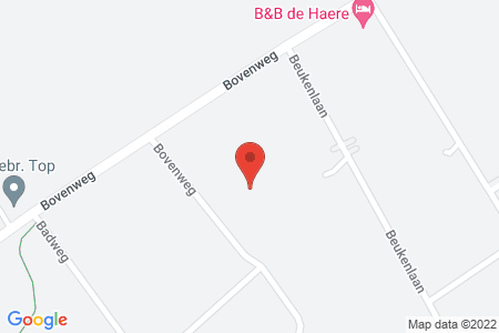 Kaart behorende bij: Bovenweg 49, 8085 SE Doornspijk