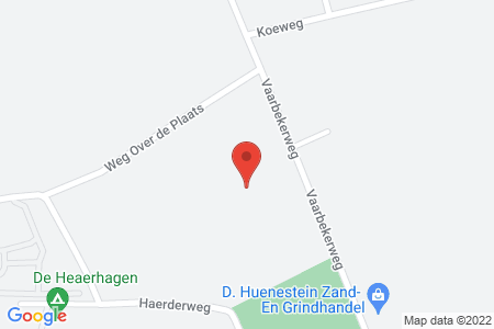 Kaart behorende bij: Vaarbekerweg 24, 8084 PT 't Harde