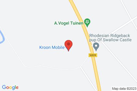 Kaart behorende bij: Schouwenburg 3, 8084 PE 't Harde