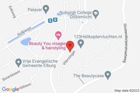 Kaart behorende bij: Vliersingel 18, 8082 CH Elburg