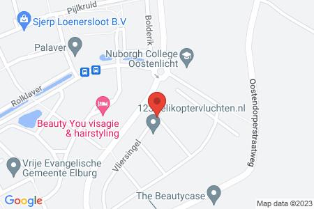 Kaart behorende bij: Vliersingel 2, 8082 CH Elburg - Termijnverlenging