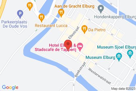 Kaart behorende bij: Rozemarijnsteeg 37, 8081 GA Elburg