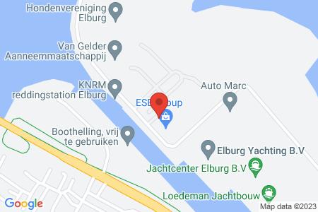 Kaart behorende bij: Termijnverlenging J.P. Broekhovenstraat 30, 8081 HC Elburg