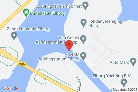 Kaart behorende bij: Eperweg 89, 8081 HC Elburg