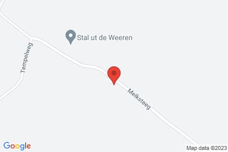 Kaart behorende bij: Melksteeg 2, 8081 RX Elburg