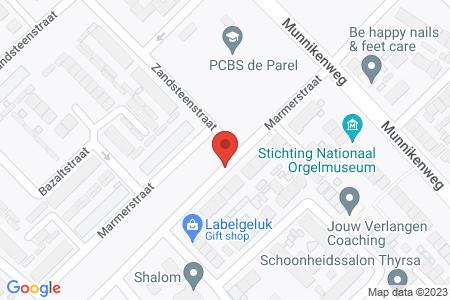 Kaart behorende bij: Evenementenvergunning op grond van artikel 2:25 APV gemeente Elburg - Mevrouw van Dam- van Zadelhoff