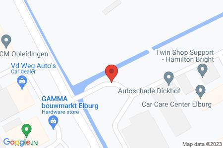 Kaart behorende bij: Broeklandstraat Elburg, kadastraal bekend gemeente Elburg, sectie E, nummers 365, 480 en 961