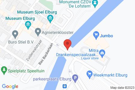 Kaart behorende bij: Zwolscheweg te Elburg, kadastraal bekend gemeente Elburg, sectie A, nummer 1529