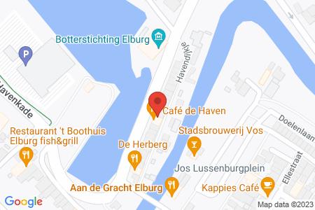 Kaart behorende bij: Weigering omgevingsvergunning: Havenkade 31, 8081 GR Elburg