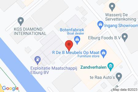 Kaart behorende bij: J.P. Broekhovenstraat 11A en 11B, 8081 HB Elburg