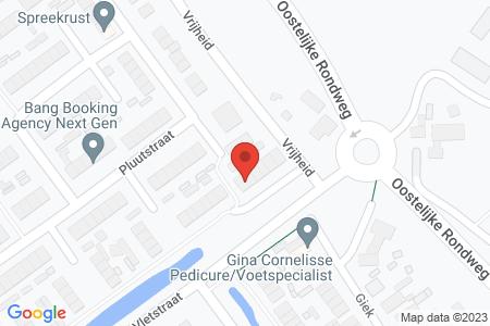 Kaart behorende bij: Pluutstraat 122, 8081 MD Elburg