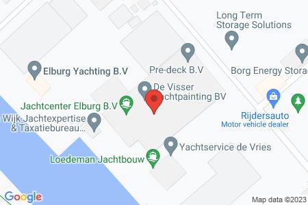 Kaart behorende bij: J.P. Broekhovenstraat 23, 8081 HB Elburg