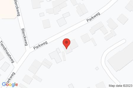Kaart behorende bij: Parkweg 57, 8084 GH 't Harde