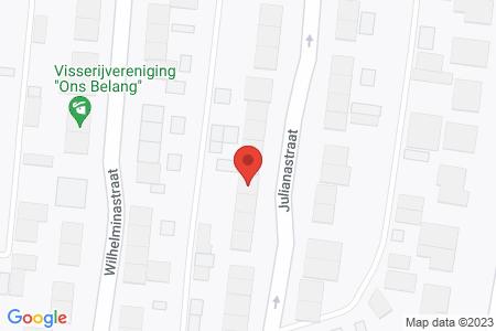 Kaart behorende bij: Julianastraat 15, 8081 AW Elburg